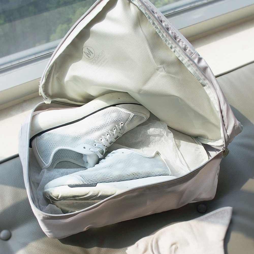 MONOCOZZI Lush 雙層鞋子收納包 Shoes Pack –卡其色