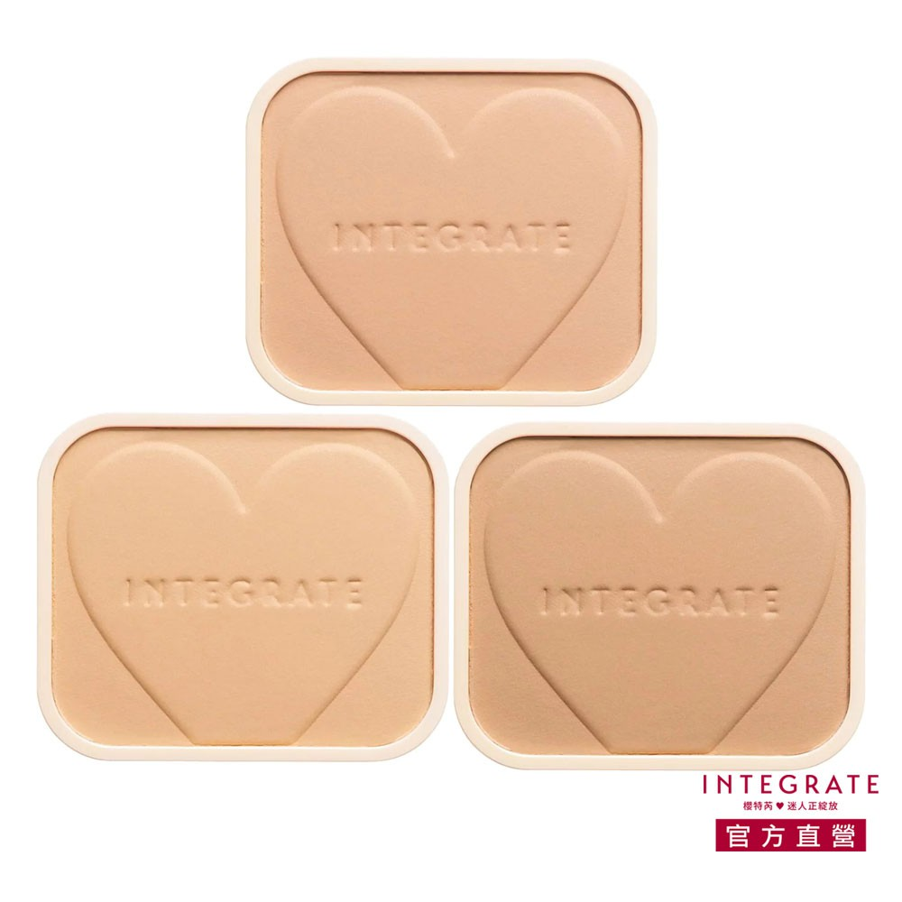 INTEGRATE 櫻特芮 柔焦輕透美肌粉餅 10g (不含盒)【watashi+資生堂官方店】