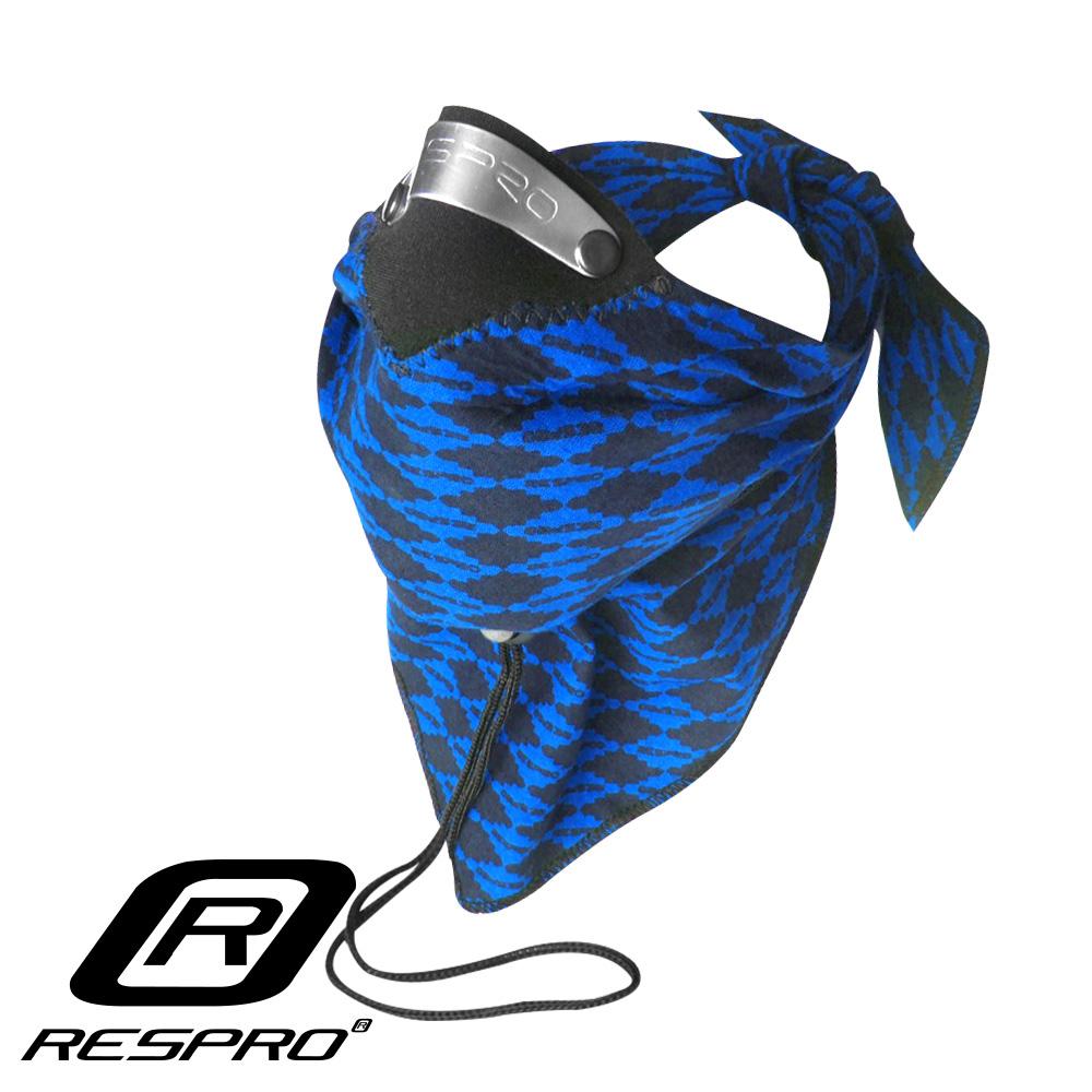 英國 RESPRO BANDIT 過濾PM2.5領巾式口罩( 藍菱格 )