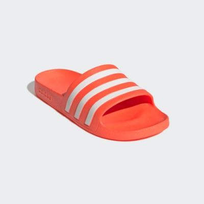 ADIDAS 拖鞋 運動 休閒 女鞋 橘 FY8096