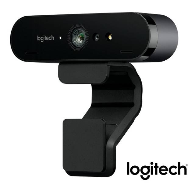 Logitech羅技 Webcam BRIO 4K HD 網路攝影機 自動對焦 臉部辨識