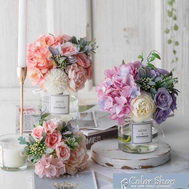 假花 西湖蝶現代北歐絹花假花仿真花客廳擺設餐桌花擺花藝裝飾花束擺件 新年禮物