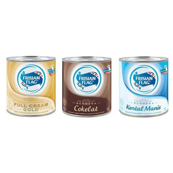 【豐食堂商城】Frisian Flag 經典原味 / 原味 / 巧克力煉乳 罐裝 370g