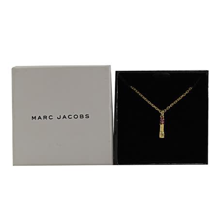 MARC JACOBS M0012268 水鑽造型垂墜項鍊.金