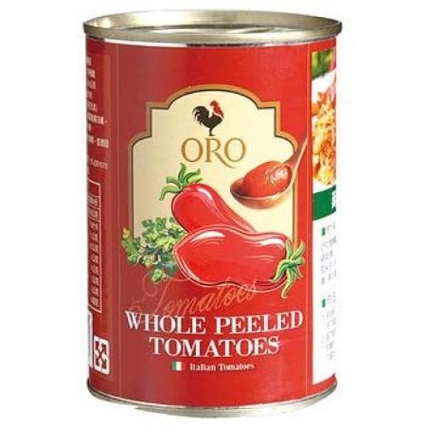 義大利ORO去皮整顆番茄400G 超值二入組【愛買】