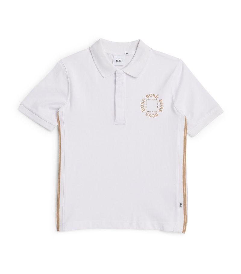 Boss Kidswear Triple Gold Polo Shirt (4-16 Years)