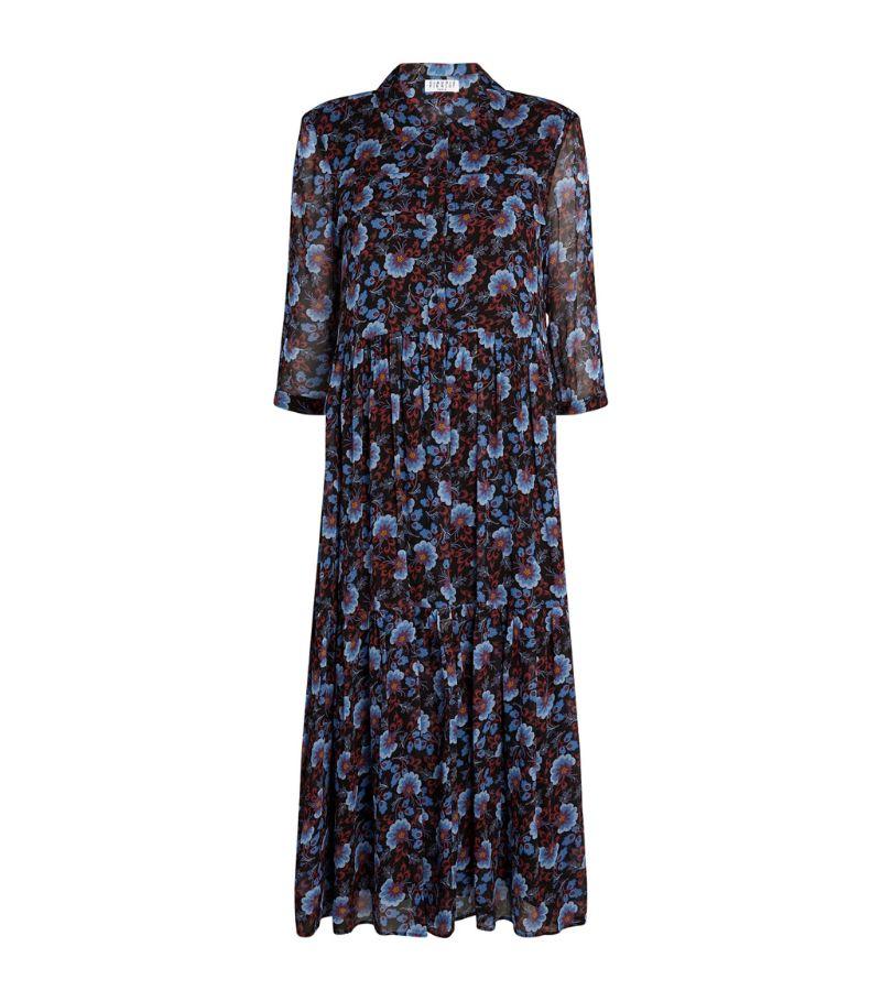 Claudie Pierlot Floral Print Midi Dress