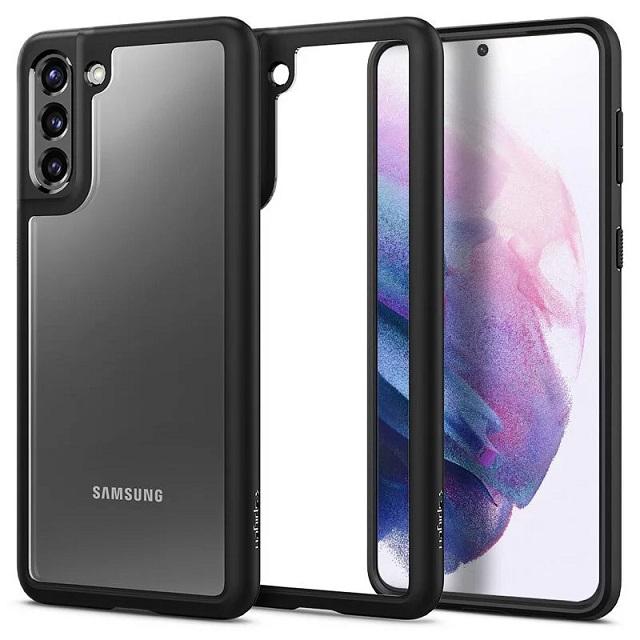 Spigen Galaxy S21+ Ultra Hybrid-防摔保護殼(黑)ACS02388