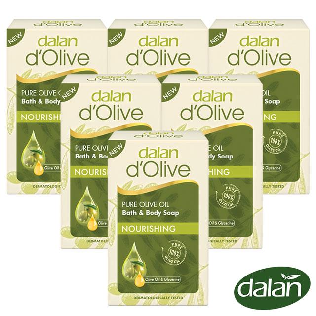【土耳其dalan】頂級82%橄欖油滋養皂200g 6入組