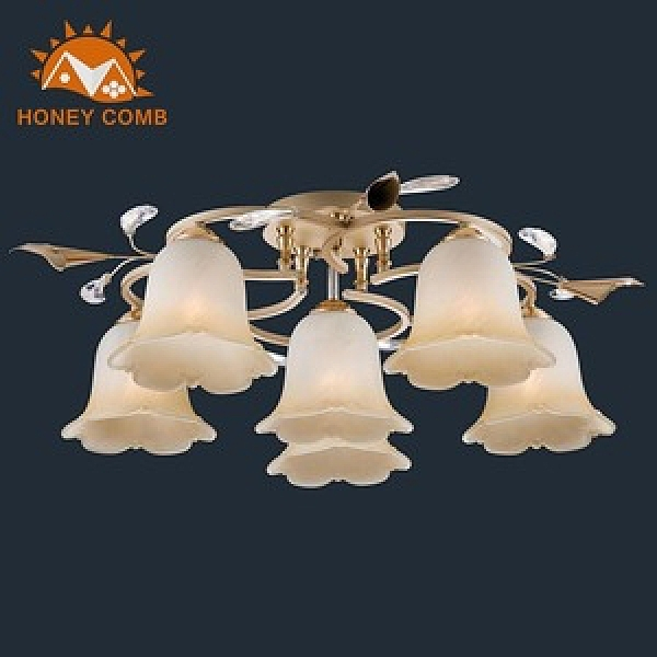 【Honey Comb】時尚半吸頂燈五燈(LB-31003)