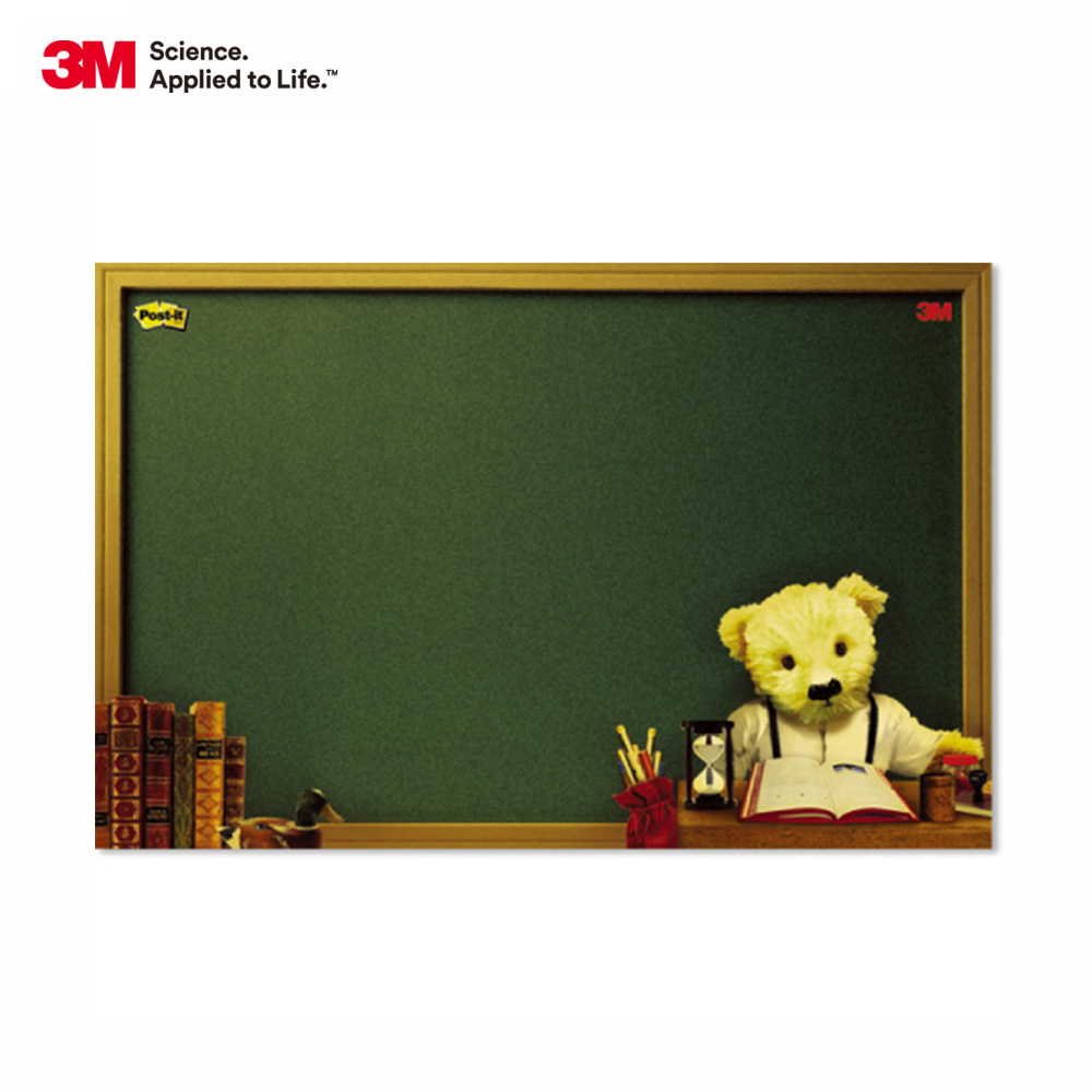 3M利貼可再貼備忘版大型熊熊系列(558L)