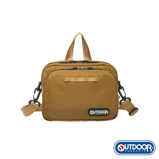 【OUTDOOR】慢活宣言-側背包S-深棕色 OD211035DBE