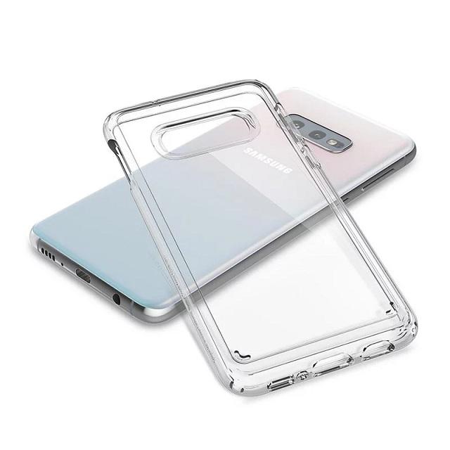 Spigen Galaxy S10 E Crystal Hybrid-軍規防摔保護殼(透明) 609CS25666
