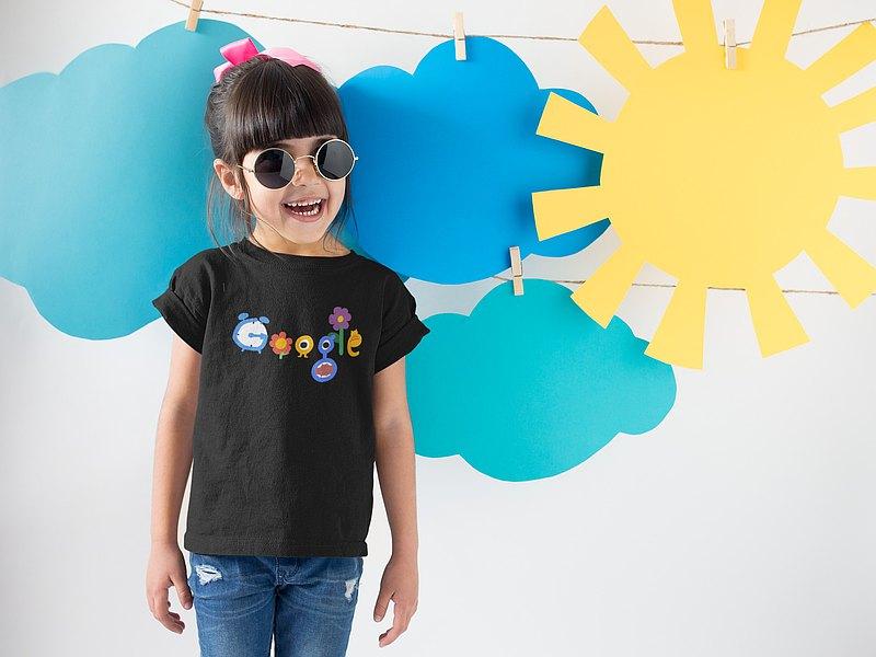 與眾不童 兒童圓領排汗T 抗UV機能T 童衣 | GOOGLE