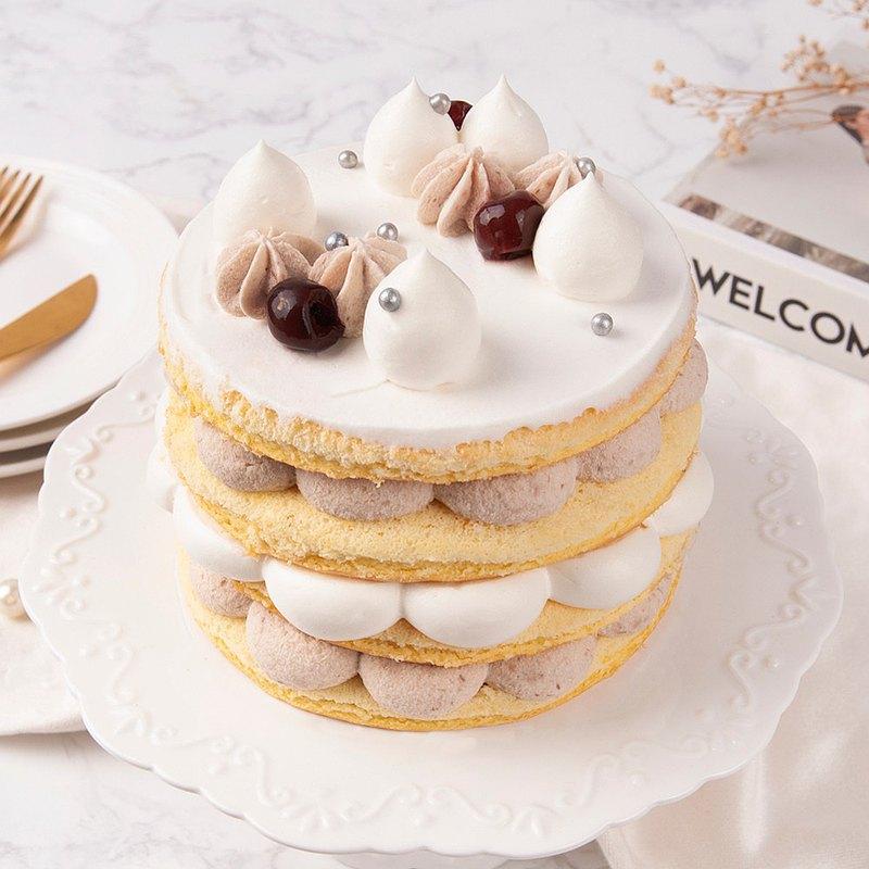 【台北師大店】芋見幸福鮮奶油蛋糕・蛋糕烘焙DIY・平板教學