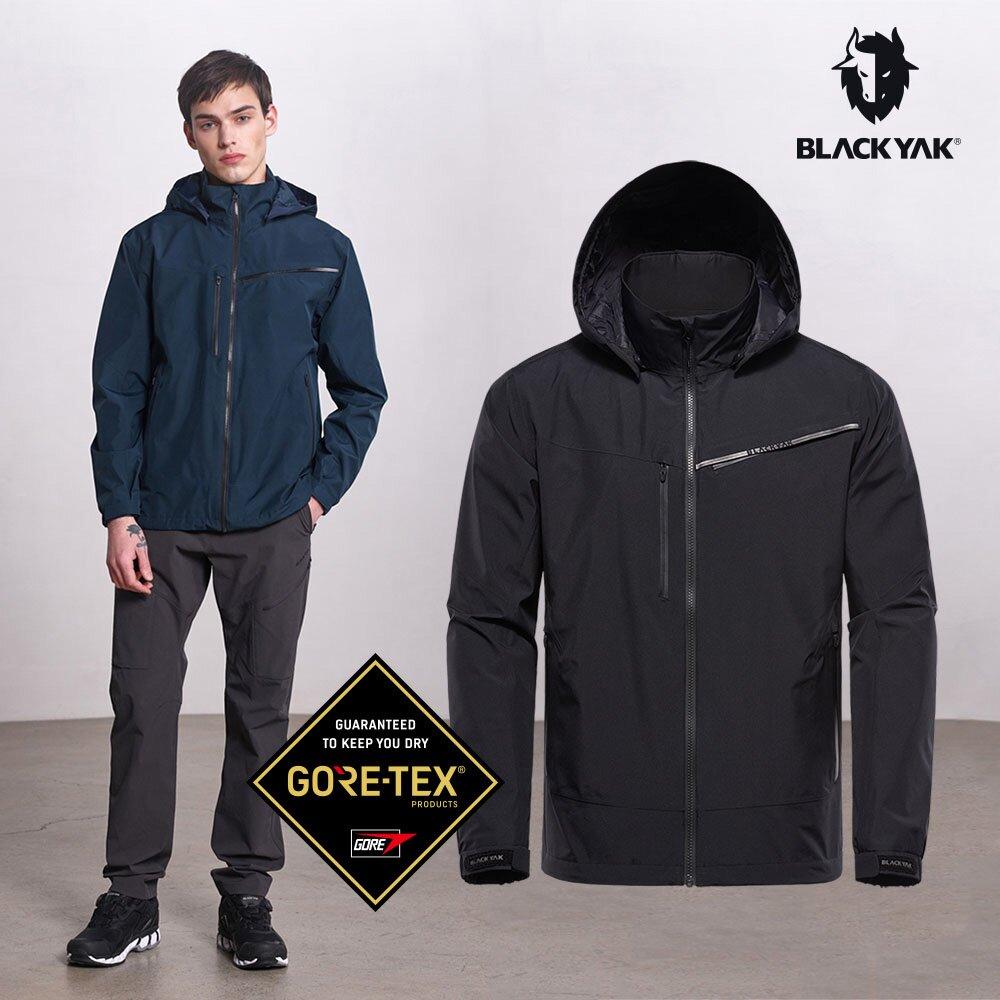 【BLACKYAK】男 MUST GTX防水外套 (黑色/深藍/紅色) Gore-Tex 防水外套 |BYAB1MJ101