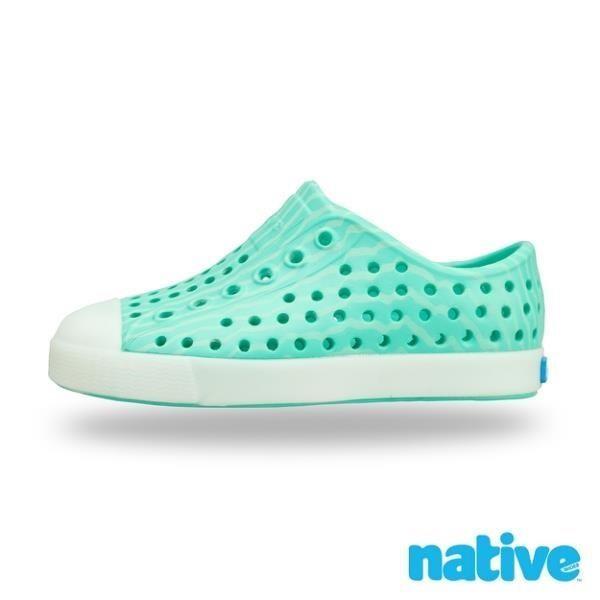 【native】大童鞋 JEFFERSON 小奶油頭鞋(薄荷綠)