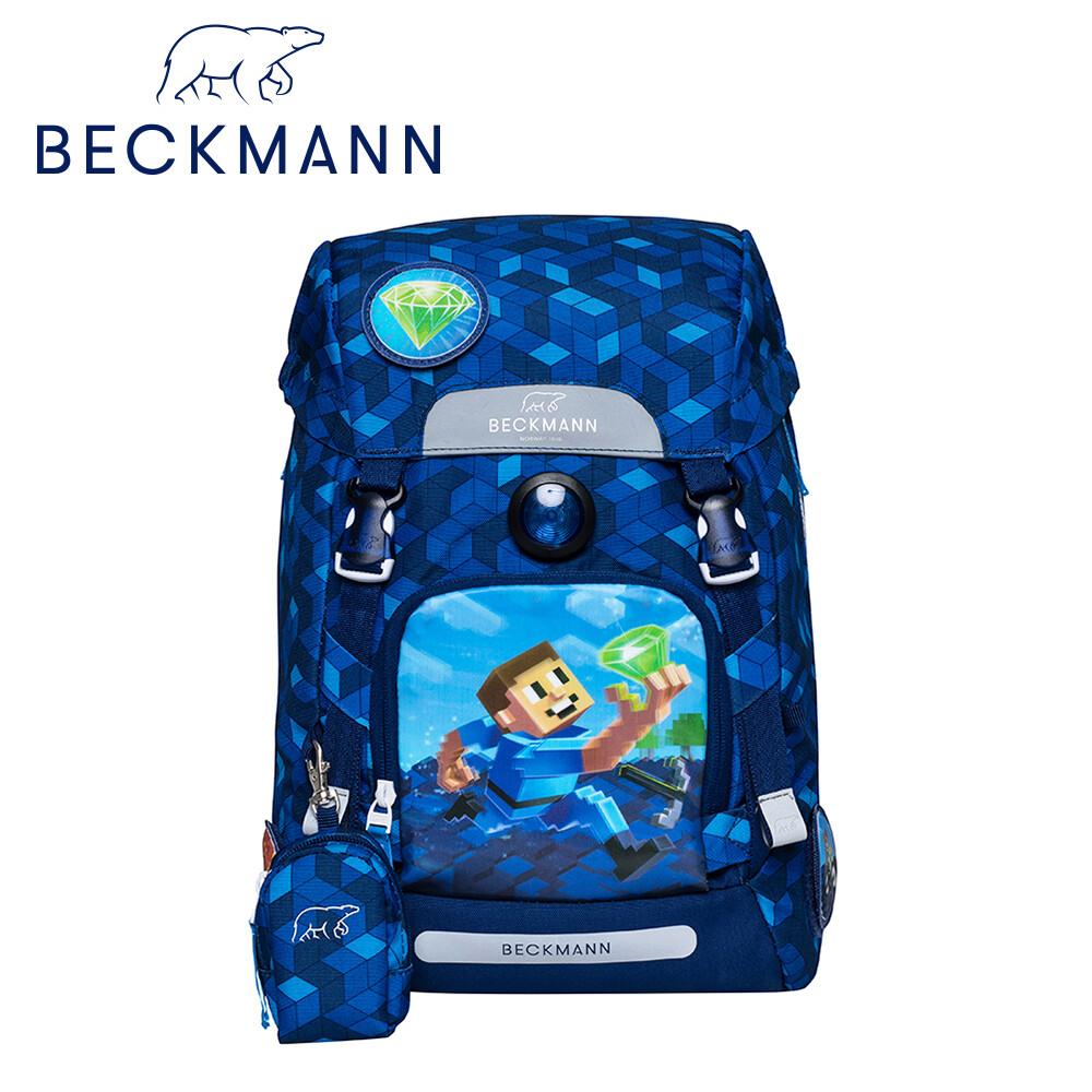 beckmann 兒童護脊書包 22l - 3d鑽石獵人
