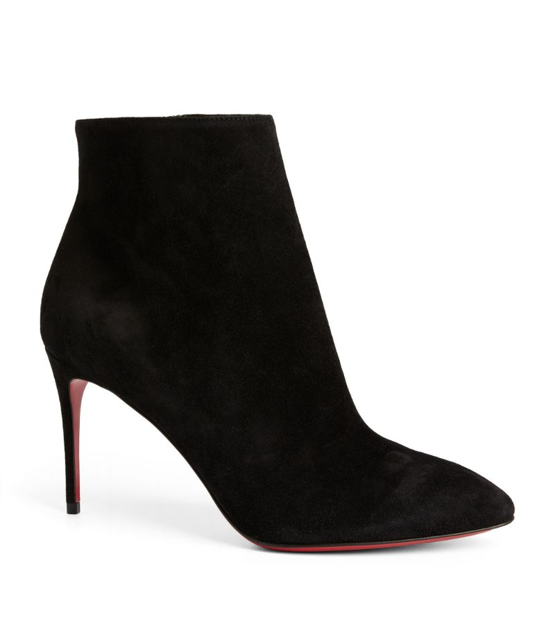 Christian Louboutin Eloise Suede Ankle Boots 85