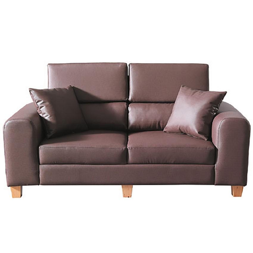 【168cm雙人皮椅-E310-11】雙人座 L型沙發 貓抓皮 布沙發 沙發工廠【金滿屋】