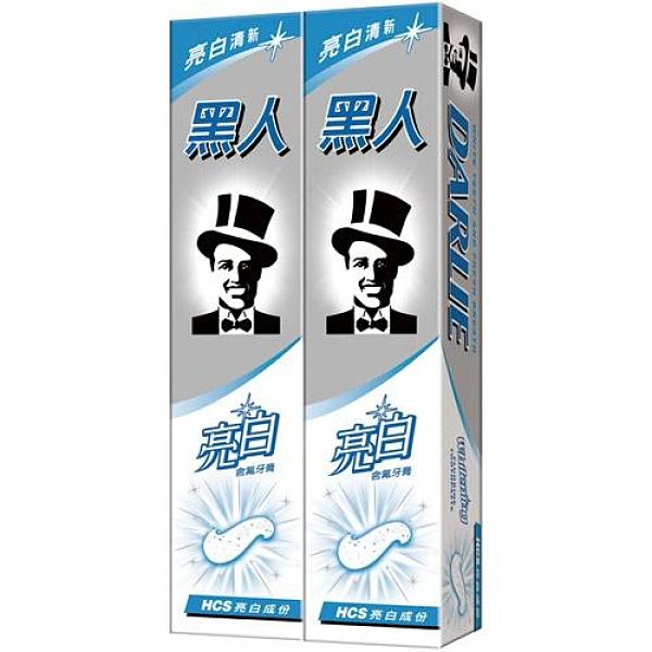 黑人亮白含氟牙膏140g X2入【愛買】