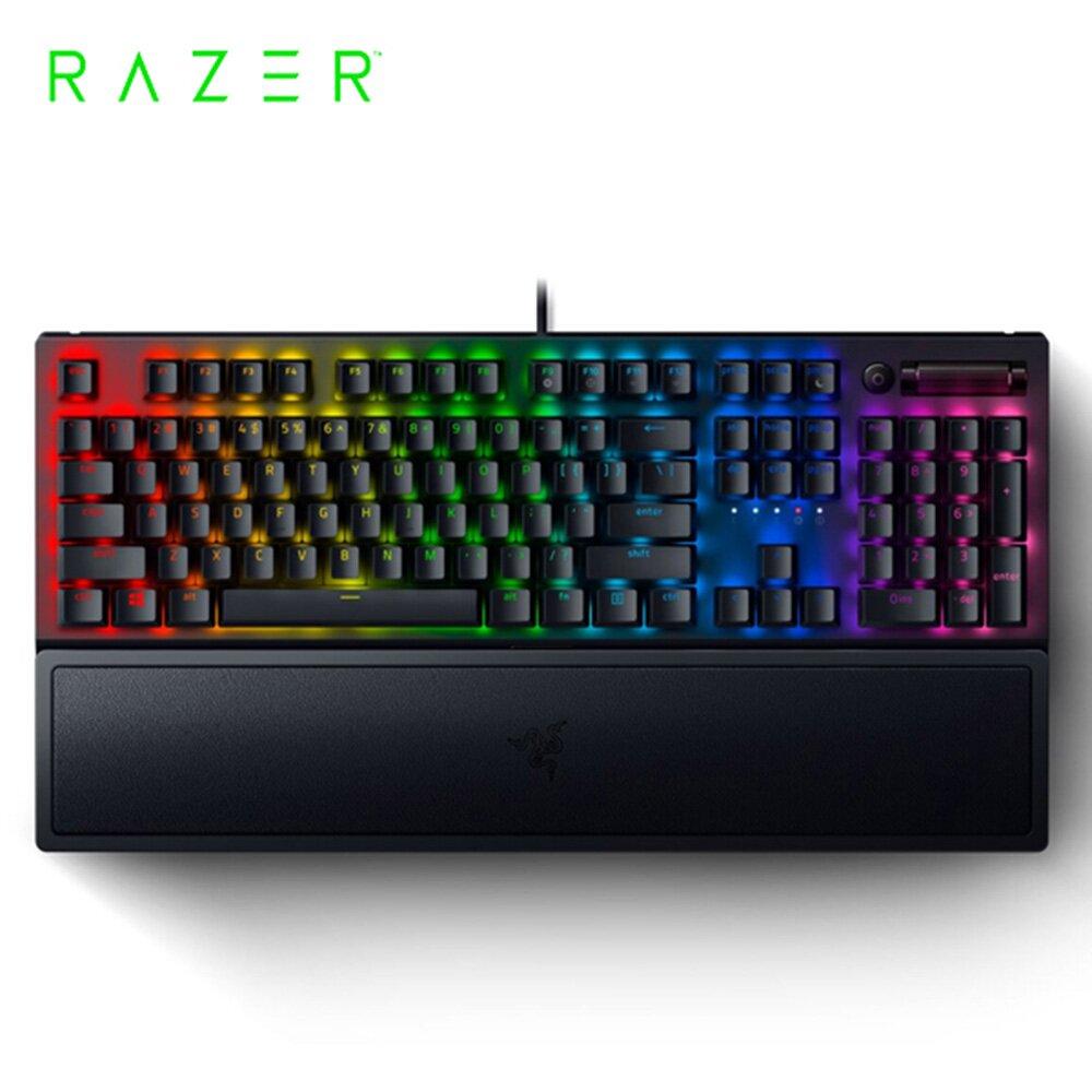 Razer 雷蛇 BlackWidow 黑寡婦 V3【綠軸】機械式 RGB鍵盤