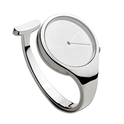 Georg Jensen 喬治傑生 VIVIANNA朵蘭 326凸面玻璃腕錶-尺寸S