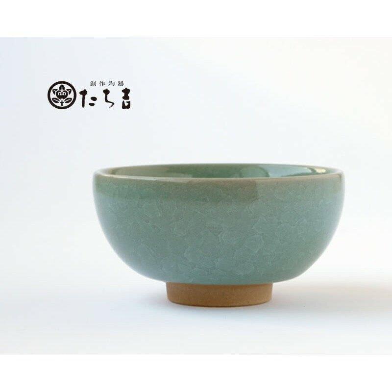 【日本橘吉】彩貫入 陶碗(青竹)(5入)