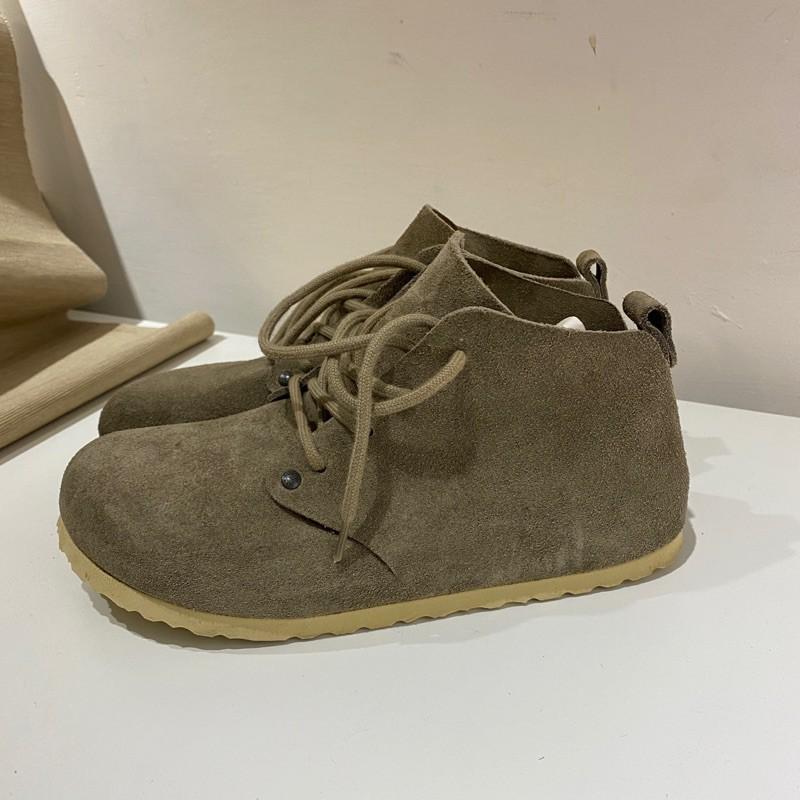 羅東勃肯 Birkenstock×DUNDEE 中統麂皮鞋 3色