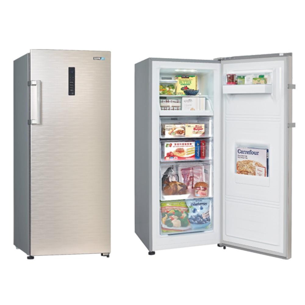【SAMPO 聲寶】242公升 直立無霜冷凍櫃 SRF-250F