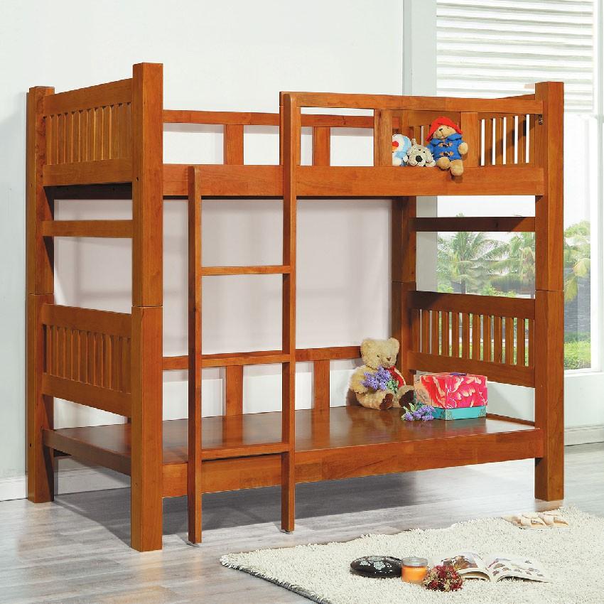【205cm雙層床-E188-2】床底 床架 高腳床組 抽屜收納 臥房床組 【金滿屋】