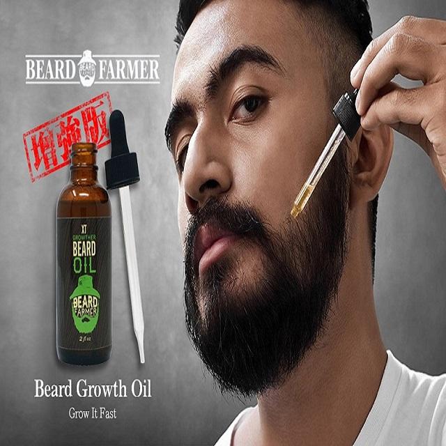Beard Farmer Growther XT Beard Oil精氨酸增強版育鬍精華液(2floz))