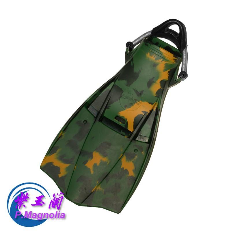台灣精品 橡膠潛水蛙鞋(不鏽鋼彈簧鞋帶) -紫玉蘭- SAEKODIVE 2315-2318