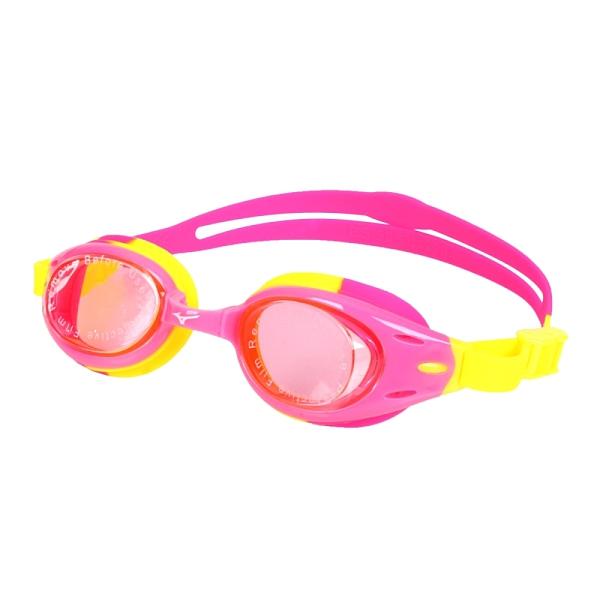 MIZUNO SWIM 兒童泳鏡(台灣製 抗UV 防霧 蛙鏡 游泳 美津濃≡體院≡ N3TF105000-64