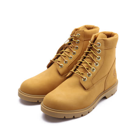 TIMBERLAND 磨砂革6吋靴 黃 19079 男鞋