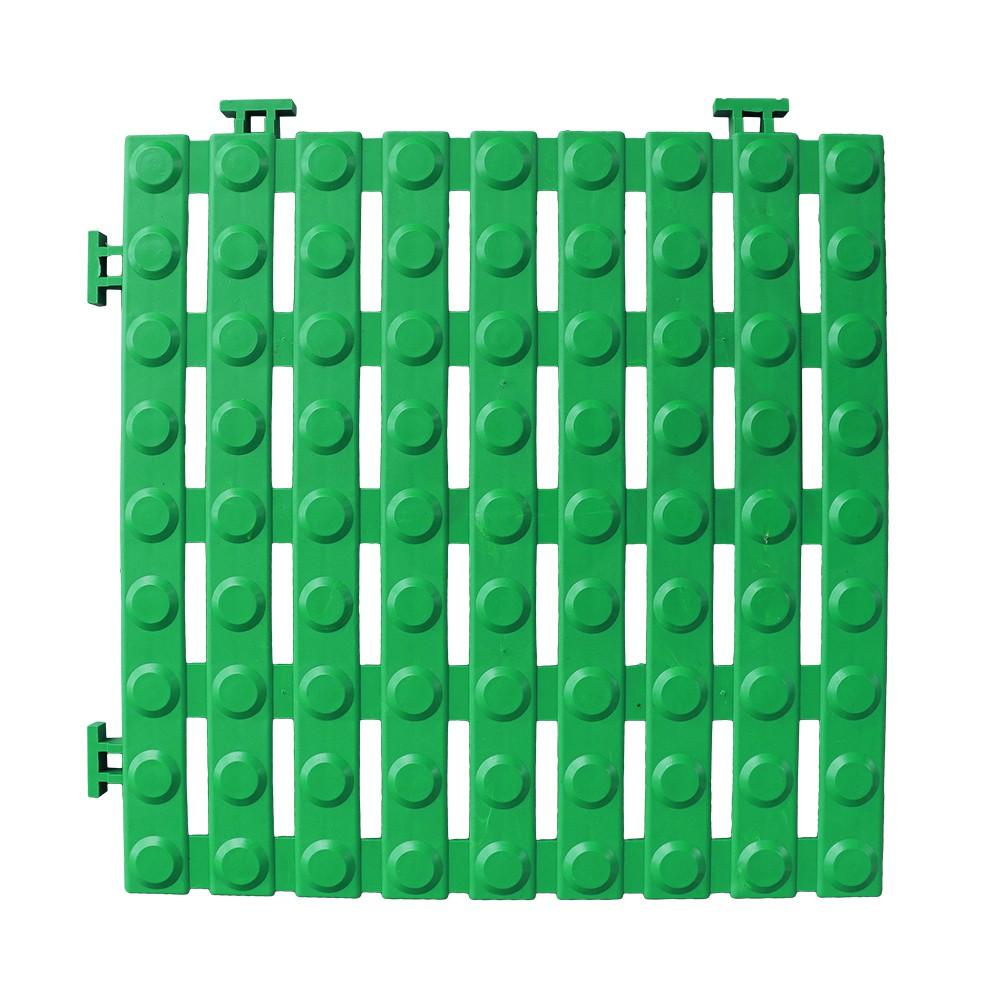 【HB】經典銅錢紋工作棧板/防滑板/止滑板/排水板【6070016】30X30X1.6公分(4片裝) 4色 台灣製造