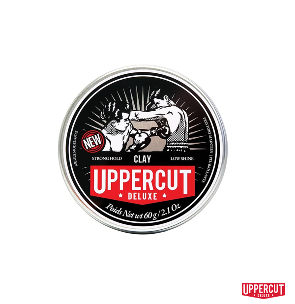 Uppercut Deluxe Clay無光強力髮泥(60g)