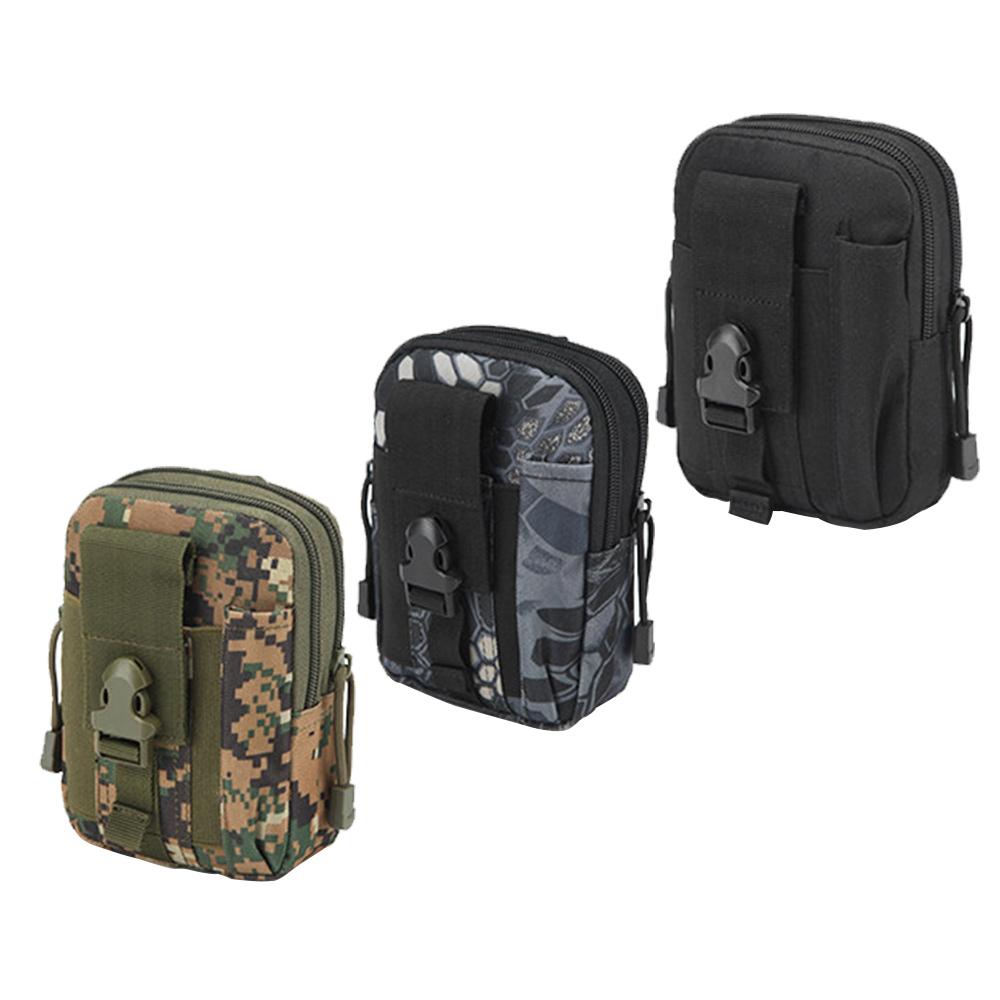 手機腰包、戰術腰包 迷彩手機包 手機袋 可放蘋果 安卓手機 運動腰包 露營隨身包 隨身小包 拉鍊隨身包 收納用品