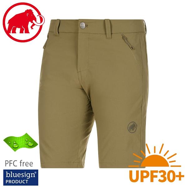 【MAMMUT 瑞士 男 Hiking Shorts短褲《鍚綠》】1023-00120/運動短褲/休閒短褲