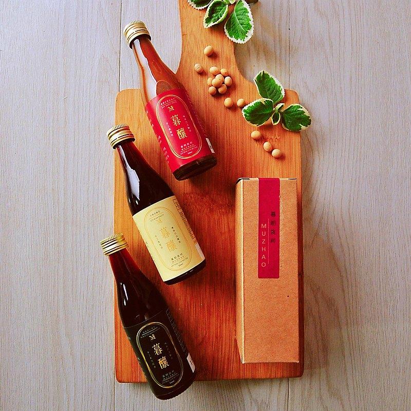婚禮小物-手作純釀醬油單入禮盒 桌上禮 遊戲禮 企業禮 姐妹禮