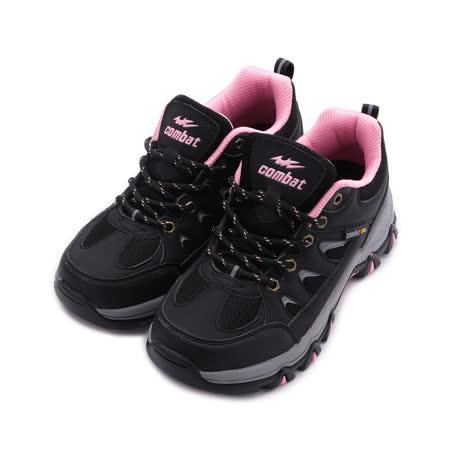 COMBAT 防潑水戶外休閒鞋 黑 女鞋