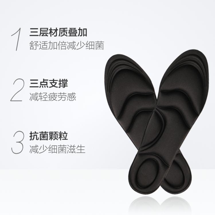 日本可剪裁3D鞋墊吸汗防臭透氣鞋墊男女增高加厚鞋墊拖鞋墊櫻花匯
