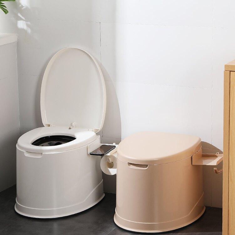 【618購物狂歡節】老人坐便器可移動馬桶孕婦老年人室內家用便攜式防臭蹲便改坐便椅