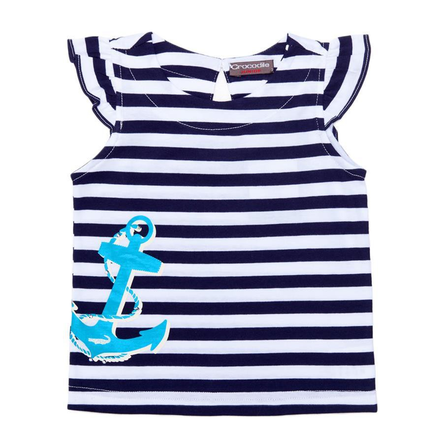 Crocodile Junior『小鱷魚童裝』367450海洋風條紋T恤-小童Ggo(G購)