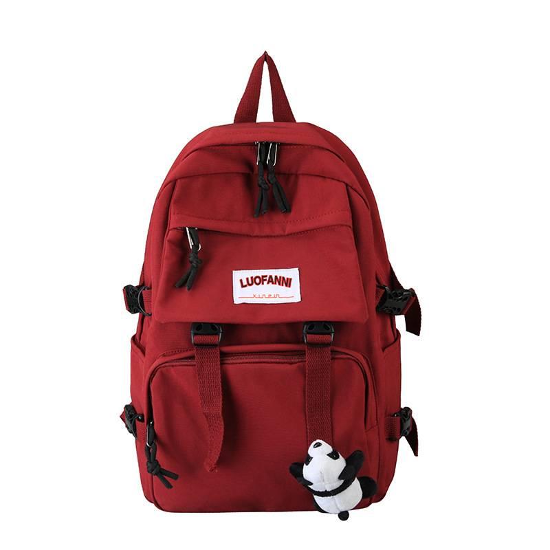 【免運】男女帆布雙肩包 新款牛津布手提雙肩包 初高中學生書包 男女大容量旅行背包 雙肩包 後背包