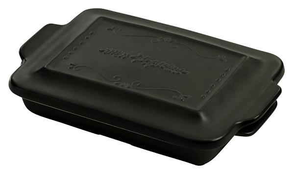 【日本製】【HyggeStyle】 美濃燒耐熱陶器系列 焗烤盤 大 黑色 SD-6369 - 日本製 美濃燒
