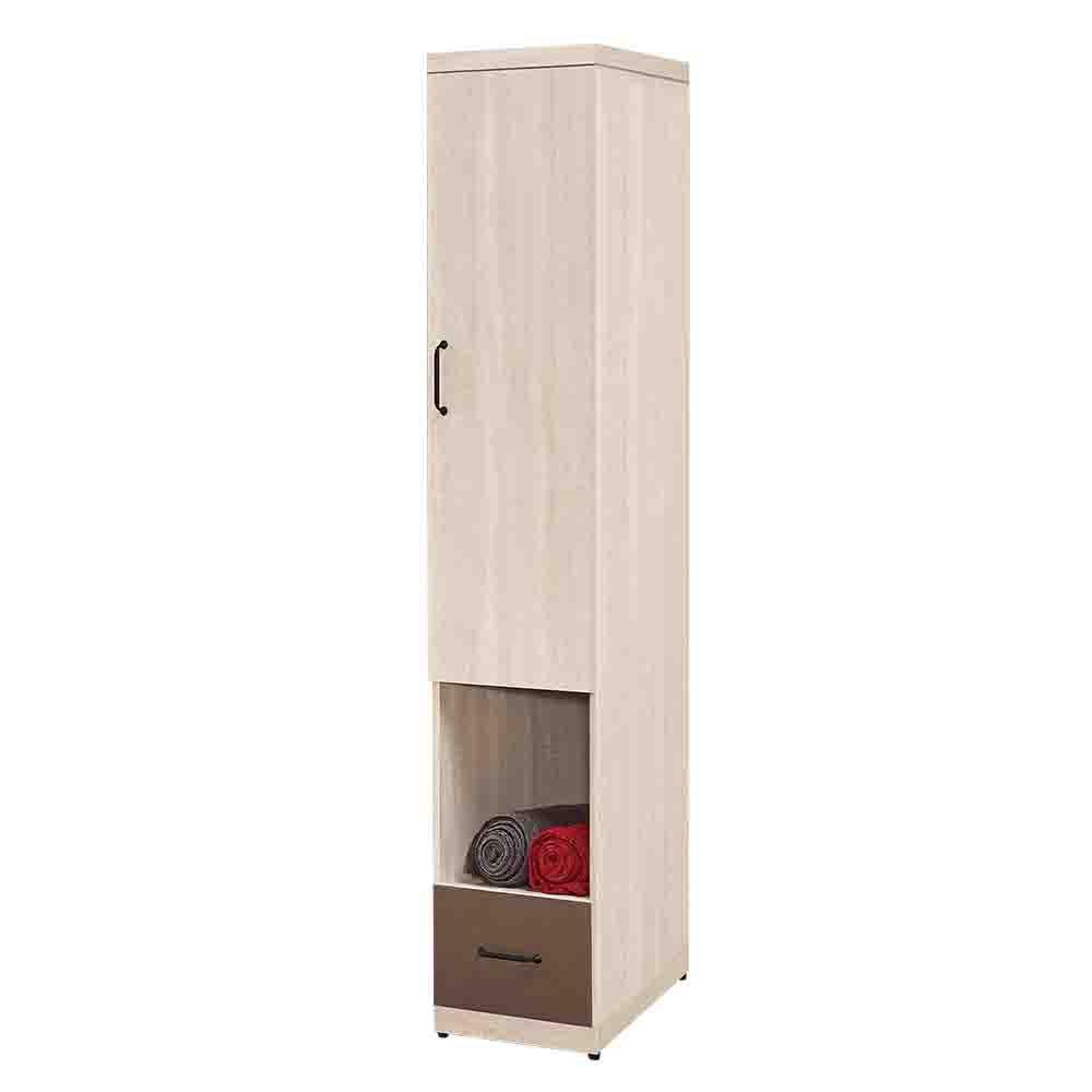 Boden-比恩1.3尺開放式衣櫃(一門+一抽)
