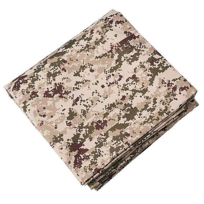 【Trusco】數位迷彩-沙漠色系多用途帆布