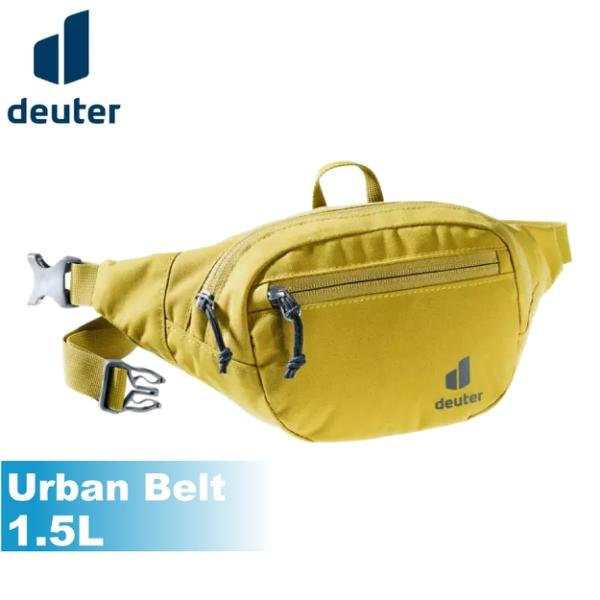 【Deuter 德國 Urban Belt 1.5L 腰包《薑黃》】3910420/隨身腰包/臀包/耐磨/抗撕/悠遊山水