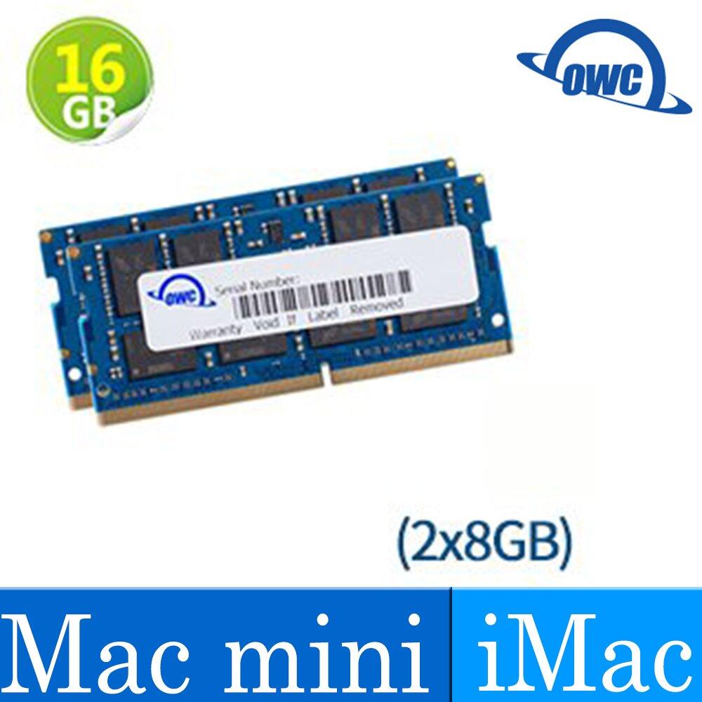 [Mac專用記憶體]OWC Memory-2666MHZ DDR4-16GB(8GB*2)